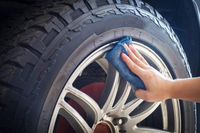 čiščenje pnevmatike