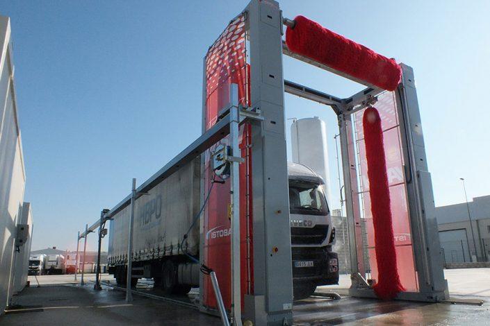 istobal kube avtopralnica za tovornjake