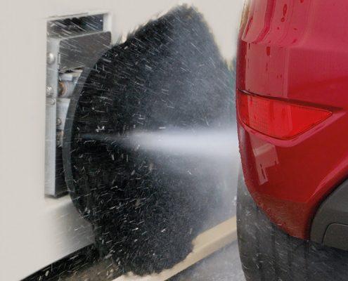 avtopralnica in pranje diskov z visokim pritiskom