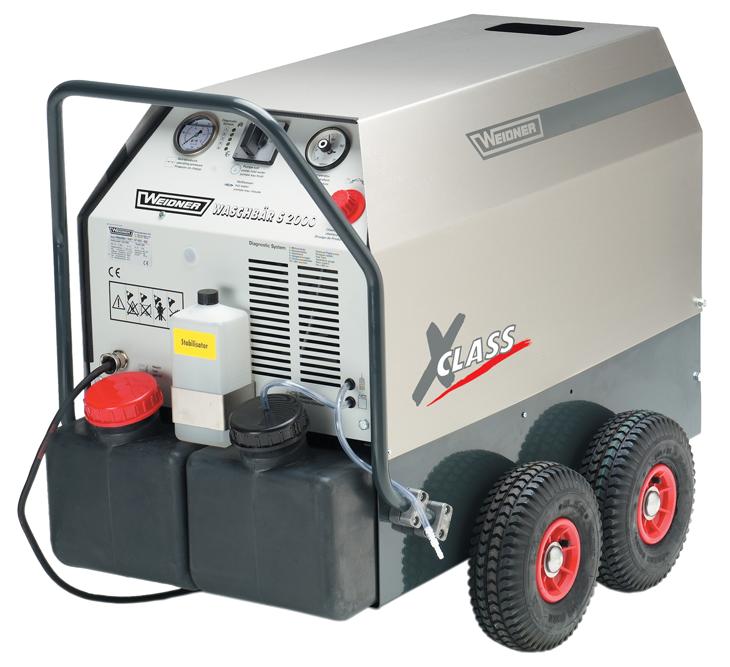 Visokotlačni stroj WEIDNER-Waschbar-S2000