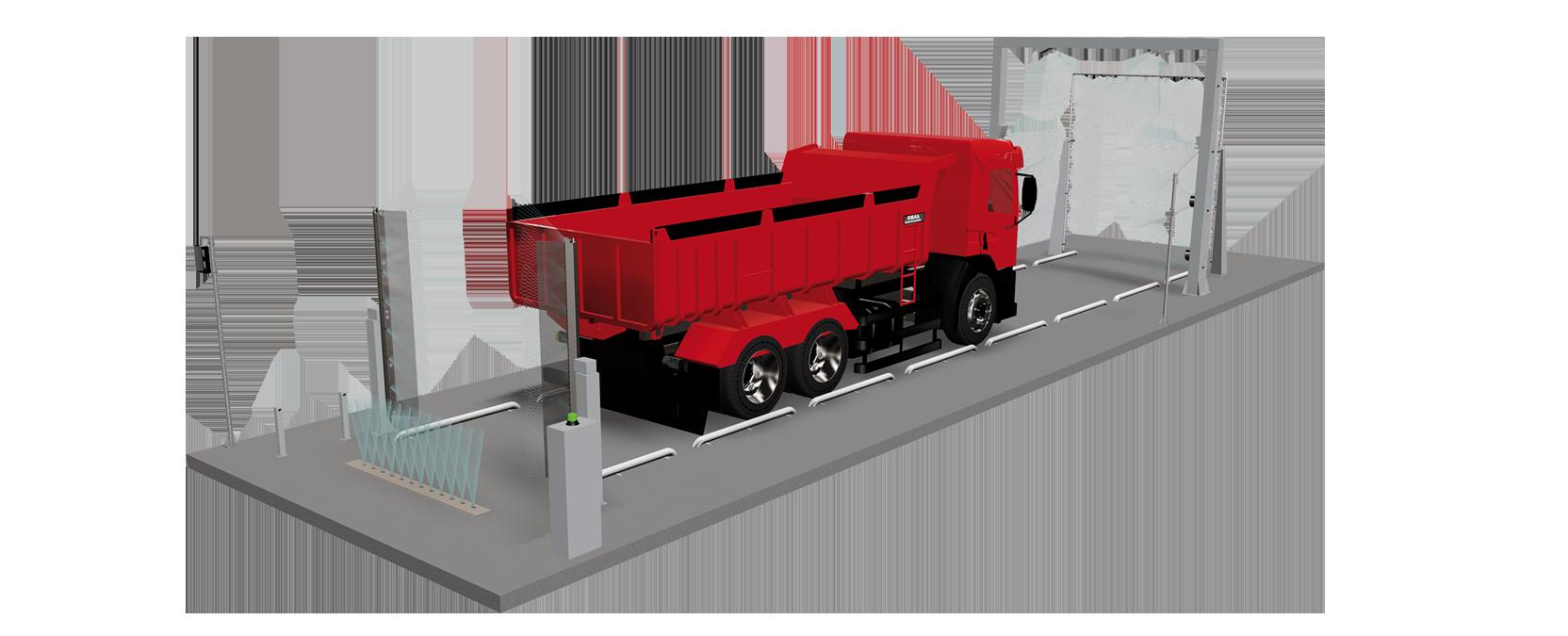avtopralnica za tovornjake
