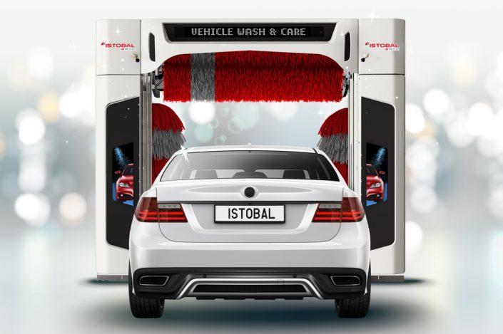 pranje avtomobila v avtopralnici