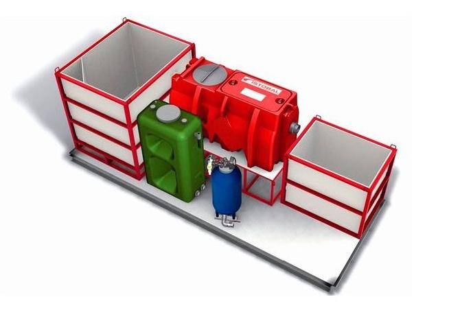mobilni sistem za recikliranje